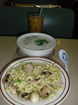 The eclectic menu offers both jook and macaroni. - MATTHEW STAFFORD
