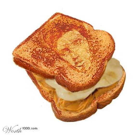 The Elvis: Peanut butter, banana, and bacon - WORTH1000.COM