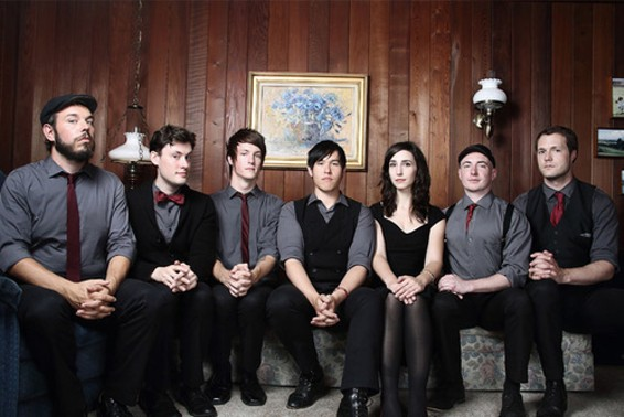 The Family Crest plays the Independent this Sunday, Dec. 6 with Caught a Ghost and Ghost and Gale. - DANIELLE MASUCCI