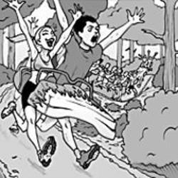 AARON  FARMER - The feel-good Easter Roller Coaster Run.