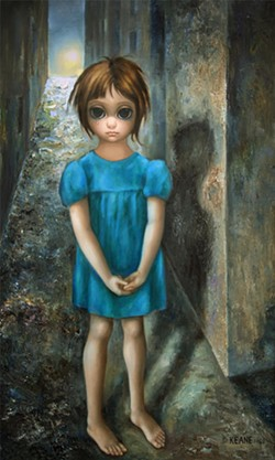 COURTESY KEANE EYES, SAN FRANCISCO - The First Grail by Margaret Keane