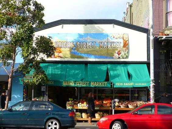 The first half of Haight Street Market. - ENARI L./YELP