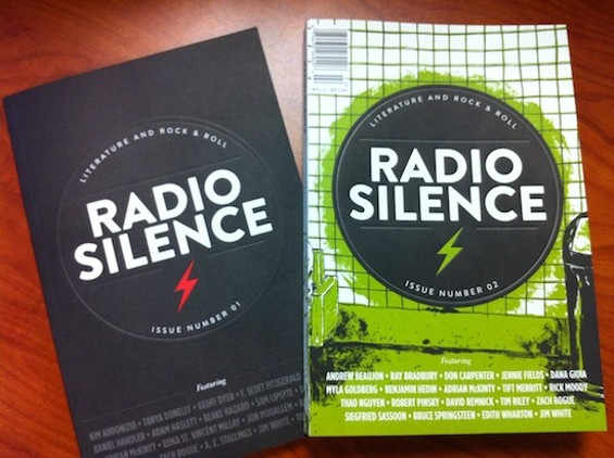 The first two issues of Radio Silence.