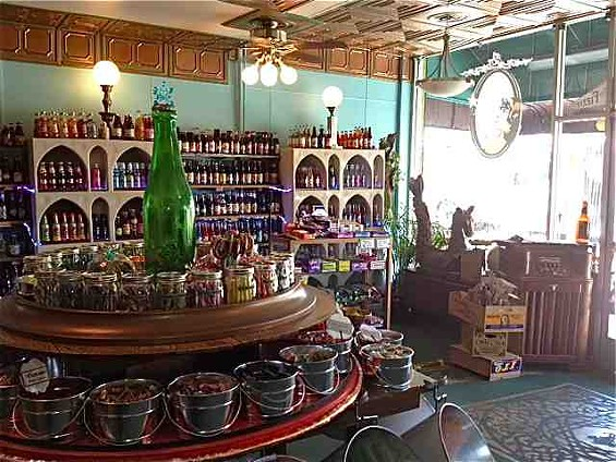 The Fizzary Soda Pop & Candy Shop opened on August 27. - TAMARA PALMER