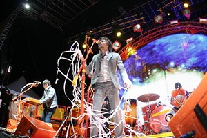 The Flaming Lips at Treasure Island 2009 - CHRISTOPHER VICTORIO