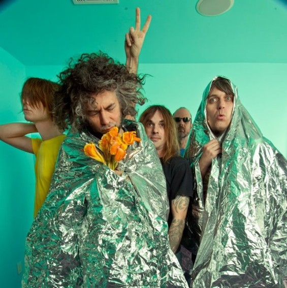 The Flaming Lips open the Noise Pop festival tonight with a special performance of The Soft Bulletin.