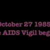 The Forgotten Decade-Long AIDS Vigil: Filmmaker Nick Aquilino Recalls the Early Days of HIV and AIDS