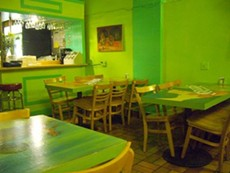 The formerly very green Mi Lindo Yucatan should soon smell like arepas. - TORO E./YELP