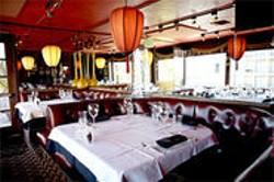 JEN SISKA - The fussy décor at Bobo's is vaguely Venetian, vaguely reddish whorehouse.