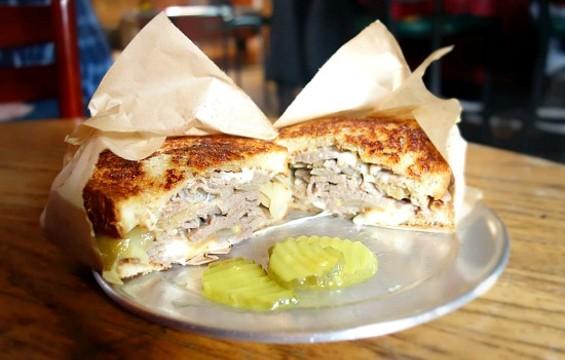 The Galley's French Onion sandwich. - FERRON SALNIKER