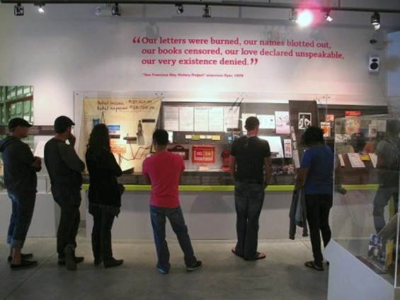 The GLBT Museum.
