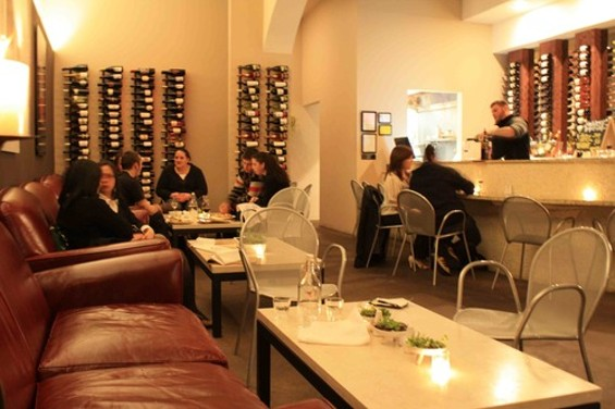 The Glen Park wine bar's decor ― like the vino offerings ― is all about careful editing. - C. ALBURGER