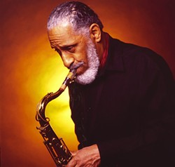 The great Sonny Rollins