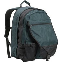The green backpak is still missing