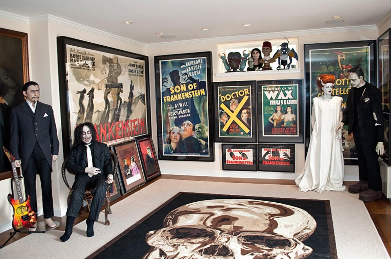 Keeping death kirk hammett 39 s house of horrors music for Kirk hammett house