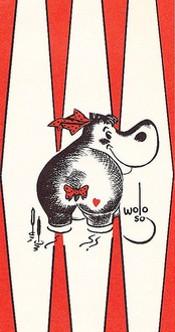 The Hippo had sass. - WOLO VON TRUTZSCHLER