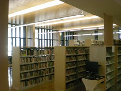 The interior of the Milk Memorial library no longer looks like a teacher's lounge - JOE ESKENAZI