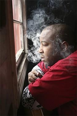 The Jacka: Smokin' local rapper.