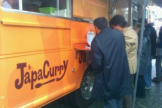 The Japanese curry truck has two new spots in the FiDi, including one owner Jay Hamada is nervous about disclosing. - MARTI L./YELP