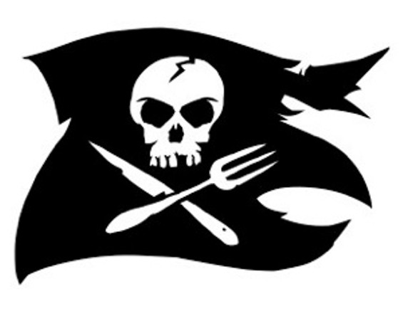 The Jolly Roger flies again. - SUBCULTURE DINING