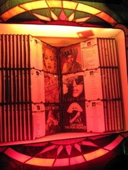 The jukebox at the Last Call.