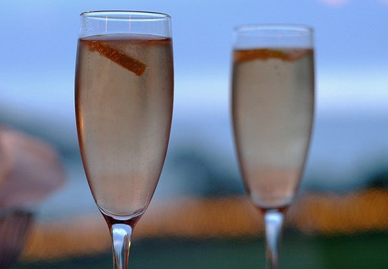 The kir royale is perfect for a bottle of sparkling wine that isn't. - TOBYM/FLICKR