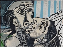 PABLO PICASSO - The Kiss