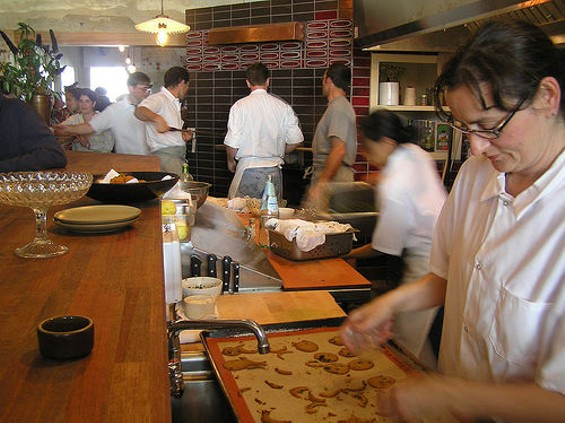 The kitchen at Pizzaiolo -- like the Oakland restaurant scene itself -- is bustling. - DOGMILQUE/FLICKR