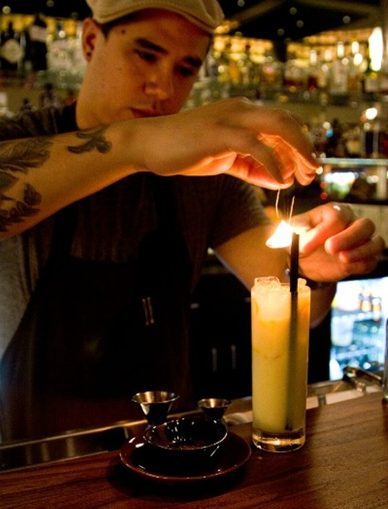 The Kumquat-Coconut at 1760: small on show, big on flavor. - THE DAPPER DINER