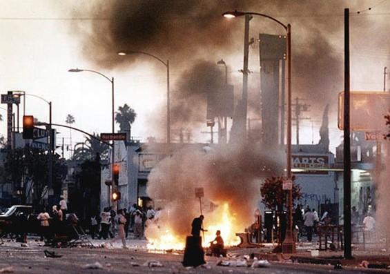 The L.A. riots.