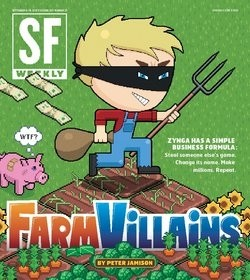 The latest SF Weekly cover story explores Zynga's culture of game-copying
