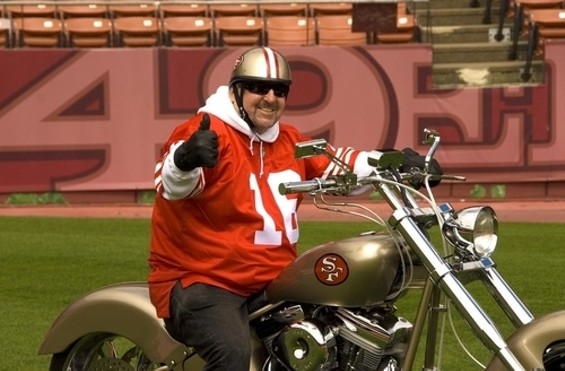 The leader of the Pack ... er, the 49ers - TOM TRACY