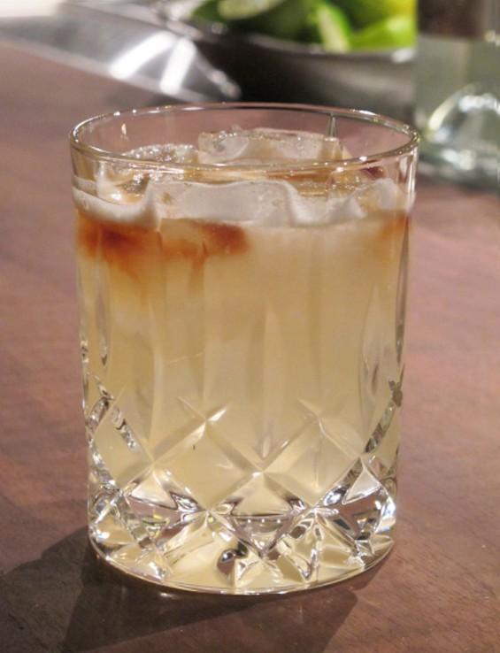 The Lima Bean cocktail - LOU BUSTAMANTE