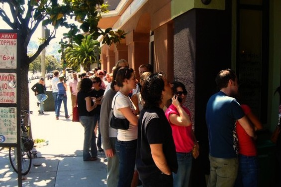 The line at Bi-Rite Creamery. - JOHNNY O./YELP