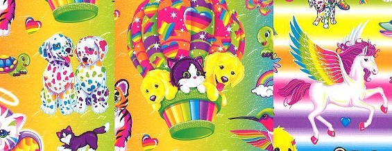 The Lisa Frank we know and love.