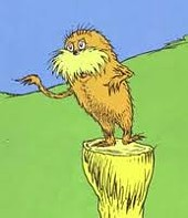 The Lorax now speaks for fewer trees