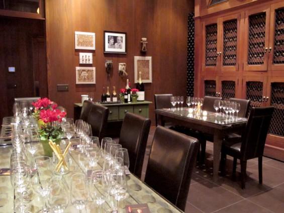 The main tasting room - LOU BUSTAMANTE