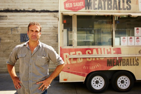 The man behind the meat: Red Sauce owner Adam Zolot - LOU BUSTAMANTE