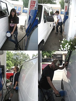 The May Fire: Feeling the pain at the pump.