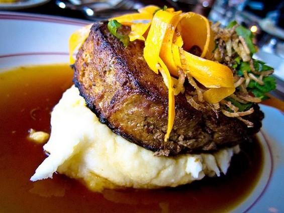 The meatloaf at Presidio Social Club. - JRODMANJR/SF WEEKLY FLICKR POOL