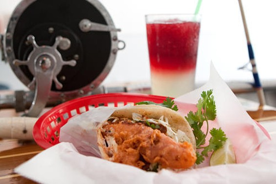 The Nantucket-style Baja taco from Tacko. Ahoy, mate! (Do Nantucketers say that?) - KIMBERLY SANDIE