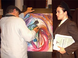 RAND COURTNEY - The Nazis want to authenticate a Picasso painting so they can burn it.