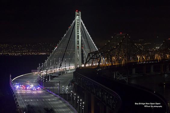 "The new Bay Bridge: a ""Holy Shit"" moment - FLICKR/DAVID YU"