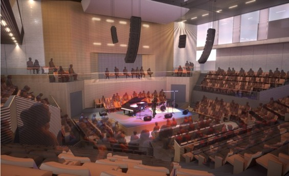 The new SFJAZZ center: A reality come Jan. 21.
