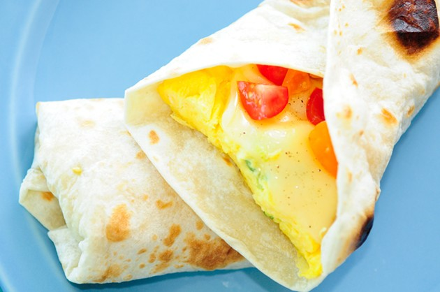 The next time you're hungover, a breakfast burrito could magically appear at your door with a few clicks of an app. - SHUTTERSTOCK/FARBLED