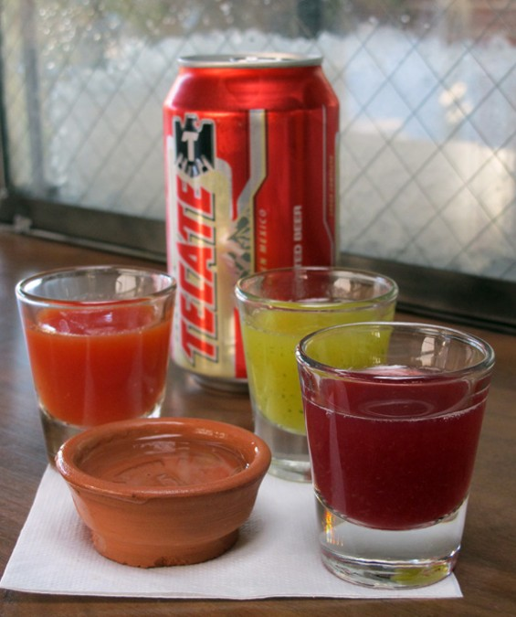 The Oaxacan Standoff--a bar value meal - LOU BUSTAMANTE