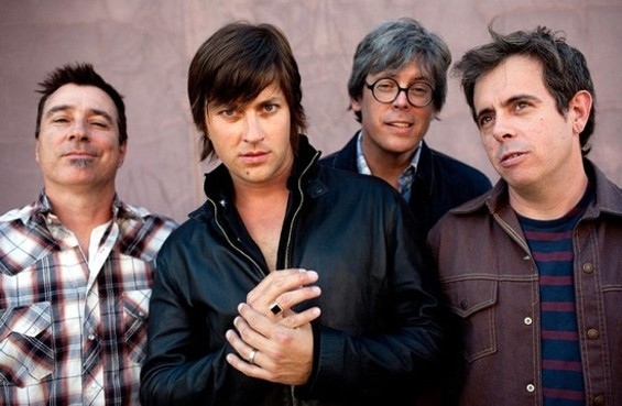 The Old 97's, with Rhett Miller second from left.