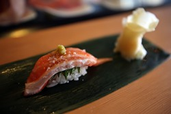 MIKE KOOZMIN - The omakase experience at Ichi Sushi.