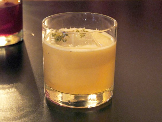 The oregano spiked Wise Guys cocktail - LOU BUSTAMANTE
