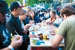 CHRIS MACARTHUR - The popularity of street food has exploded in the past year, making events like last month's SF Street Food Festival possible.
